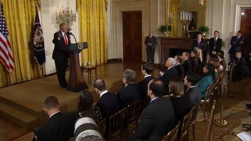 President Trump defends administration from Russia concerns Video Thumbnail