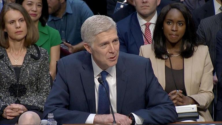 Democrats plan to filibuster Gorsuch
