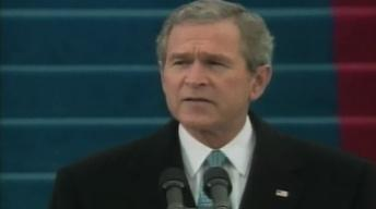 From the Vault: Bush's 2nd Inaugural