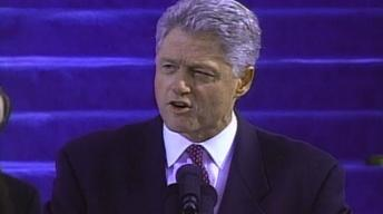 From the Vault: Clinton's 2nd Inaugural