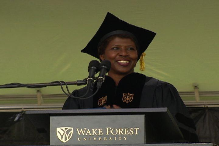Video: Gwen Ifill gives Wake Forest University Commencement Address