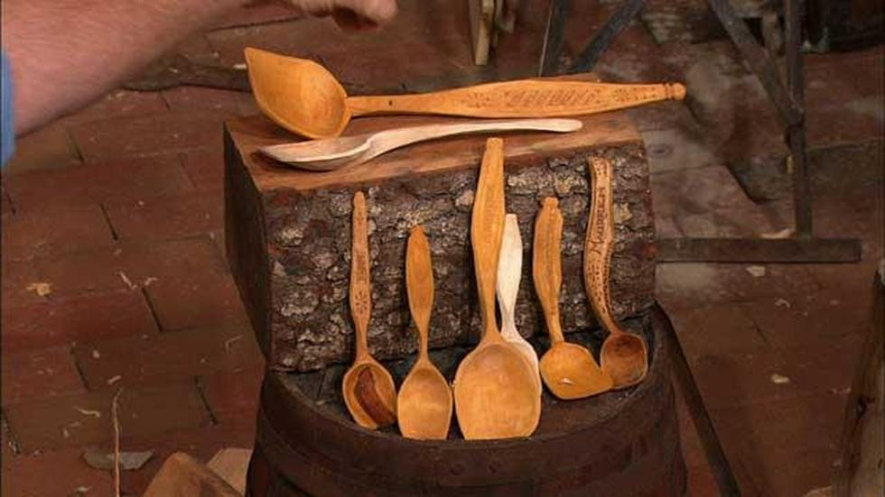 Carving Swedish Spoons with Peter Follansbee image