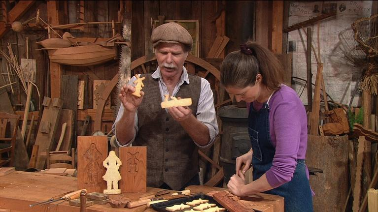 The Woodwright's Shop: Stamp Out Cookie Carving!