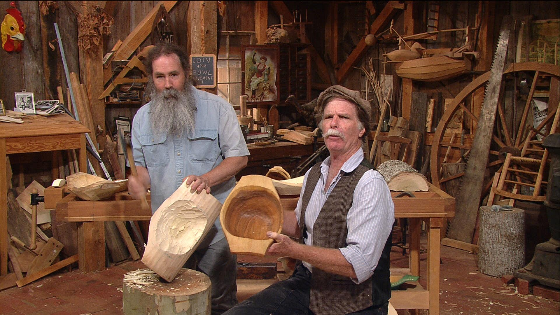 Bowl Carving With Peter Follansbee The Woodwright S Shop