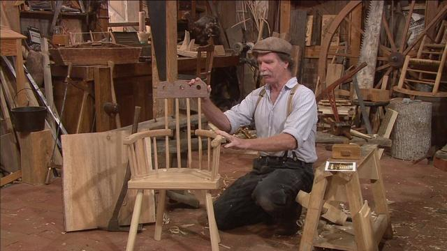 2015 Promo: Welsh Stick Chair I