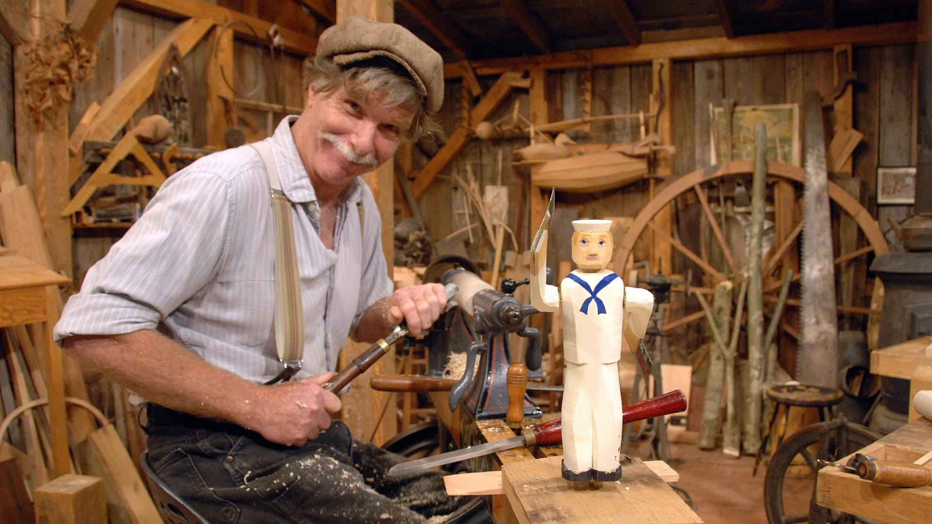 Waving Arm Whirlygigs | The Woodwright's Shop | PBS
