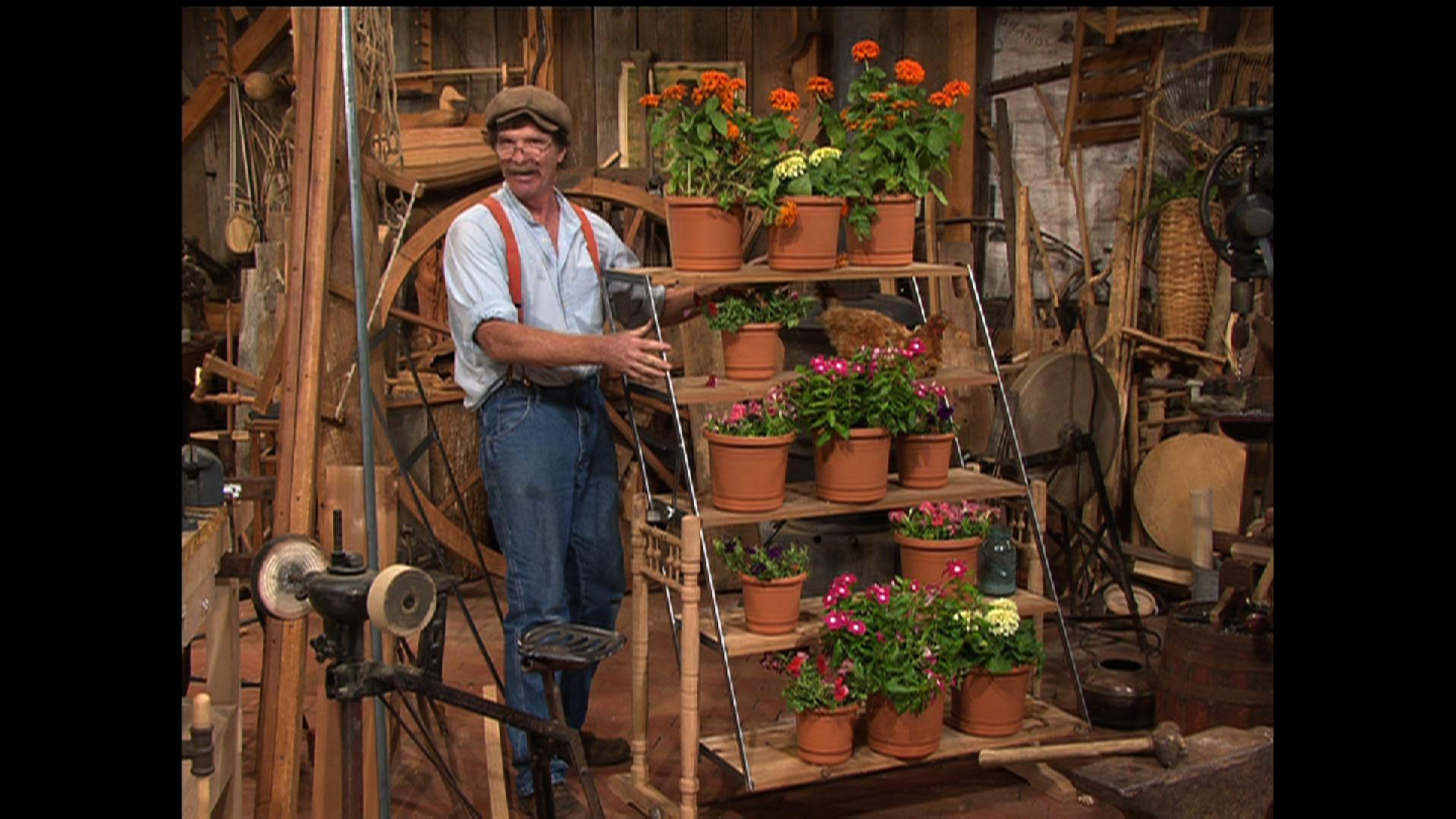 Parallelogram Plant Stand image