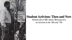 Student Activism: Then and Now
