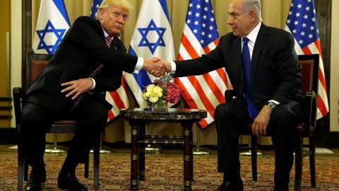 PBS NewsHour -- Trump broaches peace prospects on his Israel visit