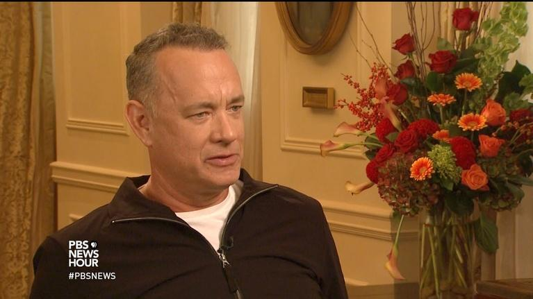PBS NewsHour: Tom Hanks on Weinstein, sexual misconduct in Hollywood