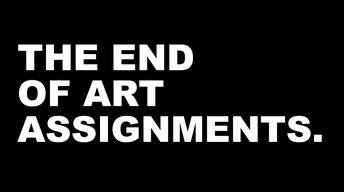 S3 Ep24: The End of Art Assignments