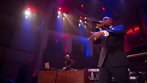 "Nas Performs ""One Love"" with the National Symphony Orchestra"