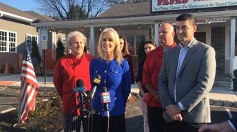 Kellyanne Conway stumps for GOP tax plan in Robbinsville