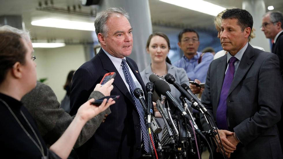 Kaine: Jamming a health care bill through Congress isn't OK image