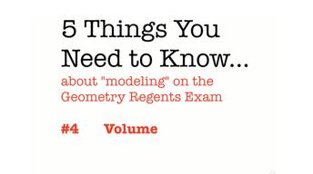 CC Geometry Volume