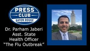 Dr. Parham Jaberi, Asst. State Health Officer, Flu Outbreak