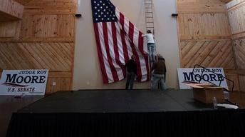 Doug Jones and Roy Moore wrap up toss-up Alabama Senate race