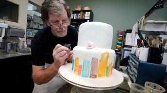 Justices weigh discrimination, dignity in wedding cake case