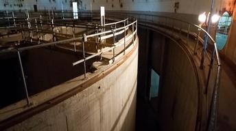 A look inside a nuclear reactor