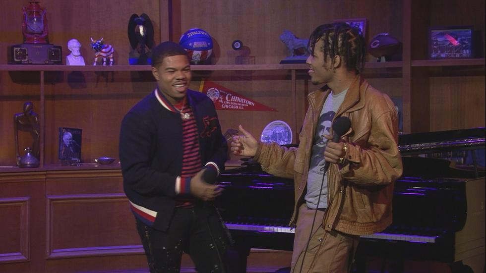 Web Extra: Taylor Bennett Live Performance image