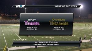 Ripley High School vs. Dyersburg High School
