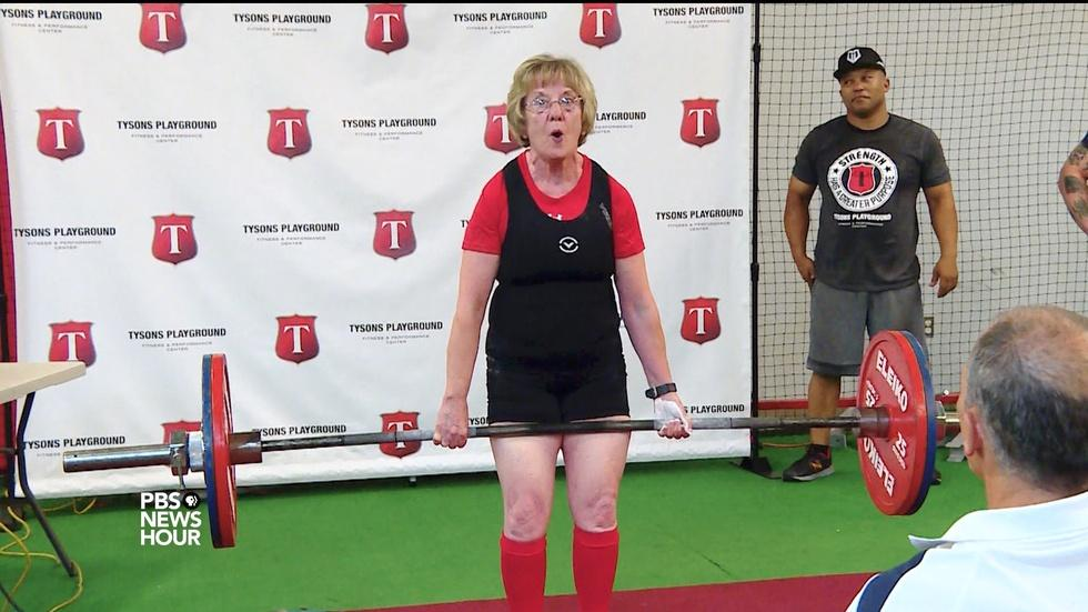 How this 72-year-old weightlifter is lifting expectations image