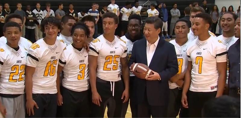 President Xi Lincon HS Visit