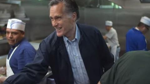 Washington Week -- Mitt Romney announces Senate bid