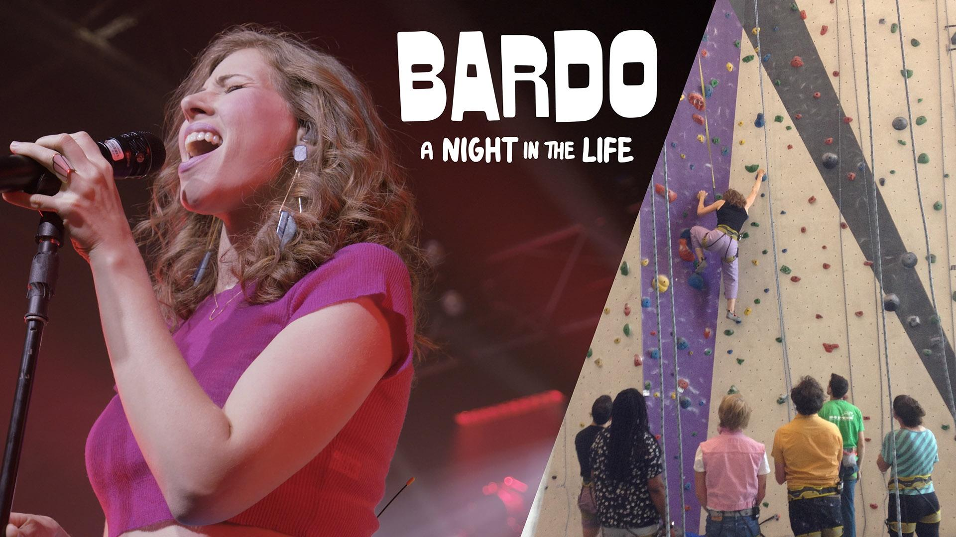 Bardo with Lake Street Dive as they go climbing...