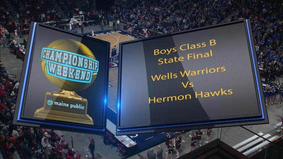 Wells vs. Hermon Boys Class B 2018 State Final image