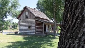 The 1876 Johnny Spaulding Cabin - Belle Fourche