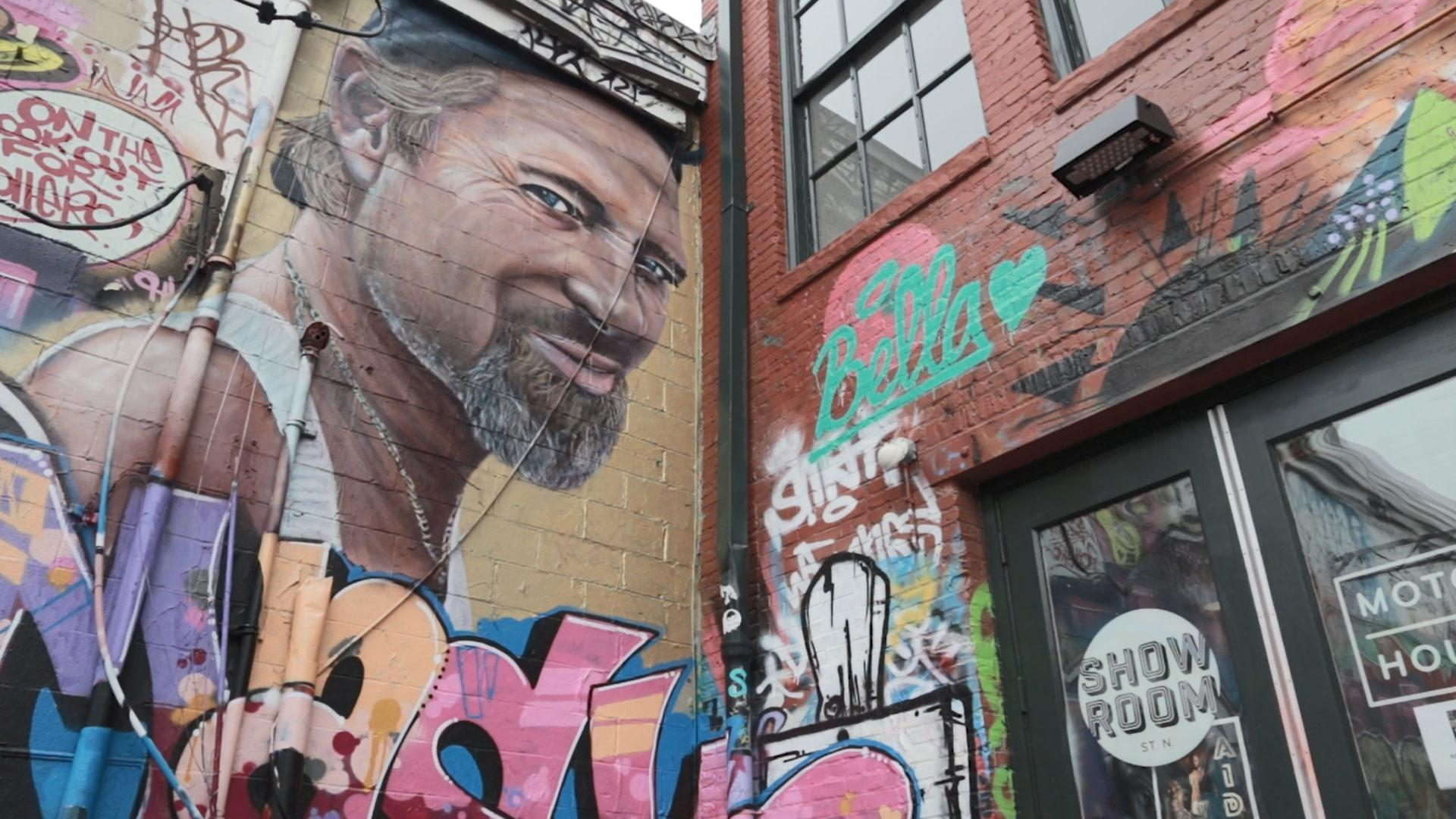 The Dig: Graffiti Alley