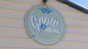 Grow2Heal Hospital Garden