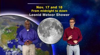 """The Leonid Meteor Shower"" Nov 6-12th 5 Min"