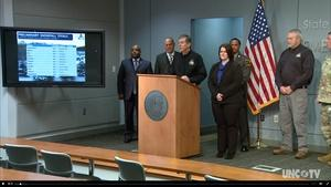 NC Governor Roy Cooper's Weather Briefing - 01/4/18