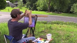 A Day In Vermont With Artist Peter Huntoon Ep 5