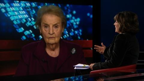 Amanpour on PBS -- AMANPOUR: Albright and official who visited North Korea