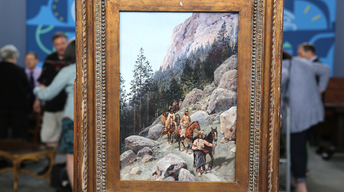 S22 Ep1: Appraisal: 1892 H. F. Farny Watercolor & Gouache Pa
