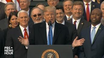In a major GOP victory, tax bill passes House and Senate