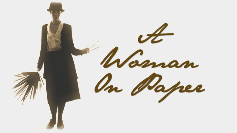 Georgia O'Keeffe: A Woman on Paper logo