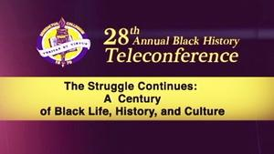 28th Annual Black History Teleconference