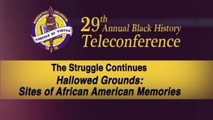 The 29th Annual Black History Teleconference