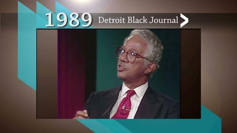 American Black Journal -- Detroit Black Journal Clip: 20th Anniversary Show