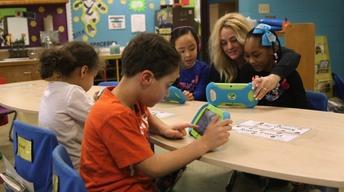 WKAR and MSU donate 1,000 PBS Playtime Pads to Lansing kids