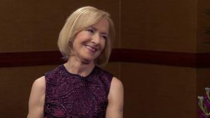 November 2017: PBS NewsHour's Judy Woodruff