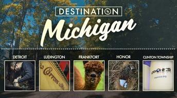 Detroit, Ludington, Frankfort, Honor & Clinton Township
