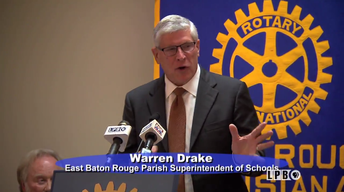EBR Superintendent Warren Drake