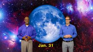 """Once is a Blue Moon Eclipse"" Jan 22-28th 5 Min"