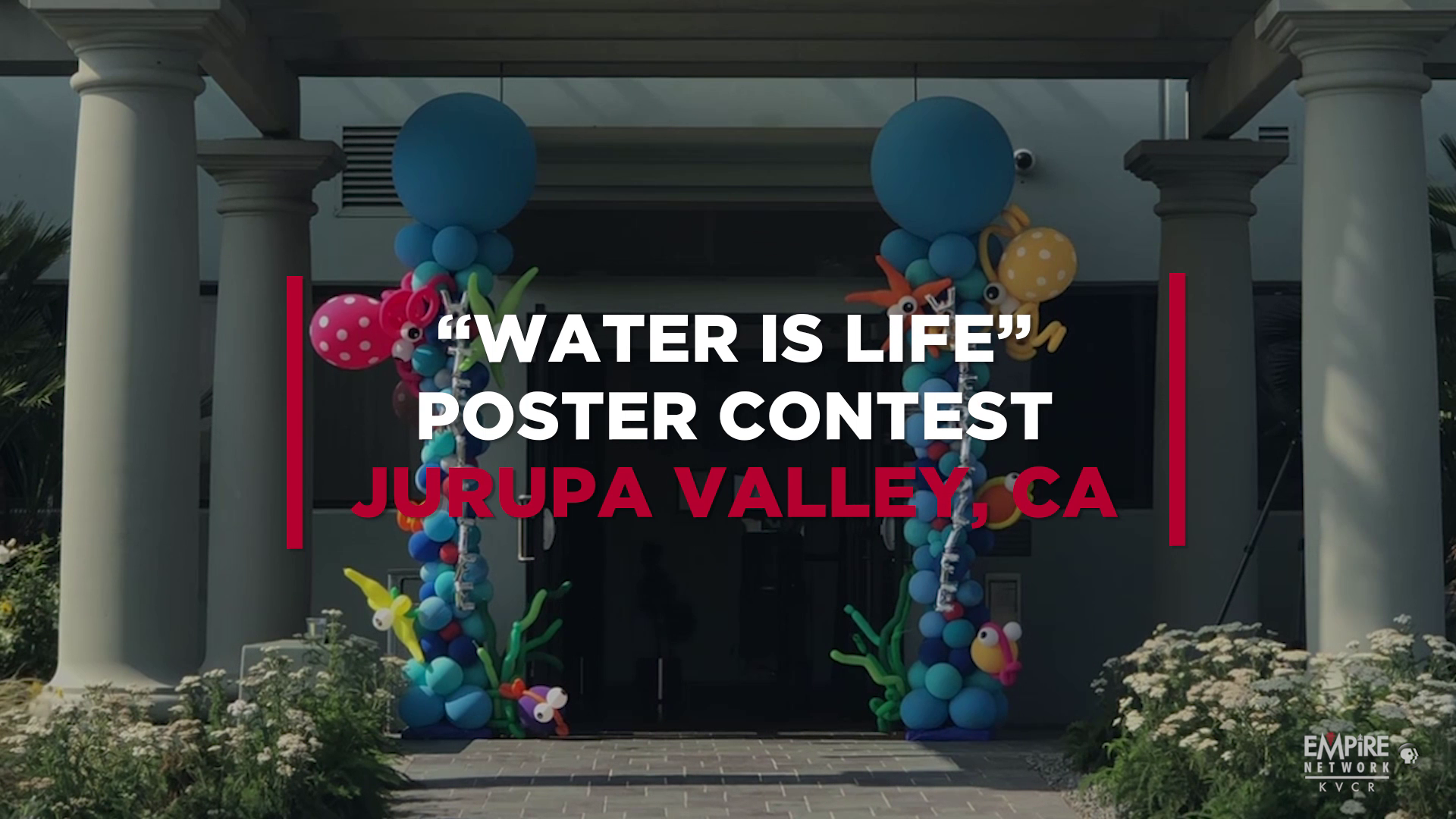 Water is Life Poster Contest