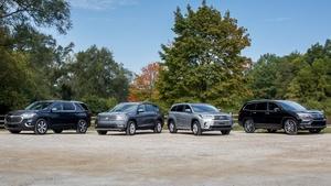 S37 Ep10: 2017 Three Row SUV Challenge & 2018 Porsche Paname
